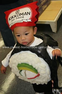 coolest california roll sushi boy costume 21307791 Homemade Mario and Luigi Couple Costume