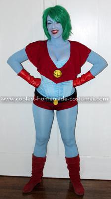 Coolest Captain Planet Costume 4