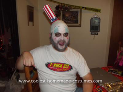 Homemade Captain Spaulding Costume