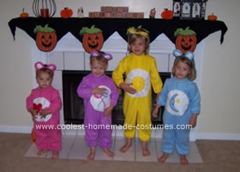 Homemade Care Bears Costume