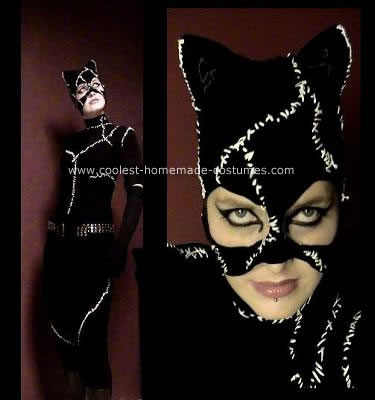 Homemade Catwoman Costume. Michelle Pfeiffer may have had more fun playing ...