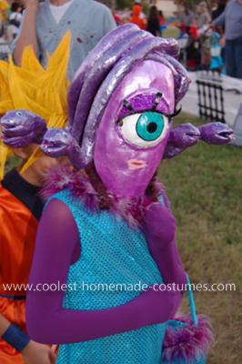 Homemade Celia Monster Costume