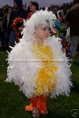 Fluffy Chicken Costume
