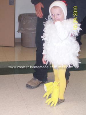 Chicken DIY Halloween Costume Idea