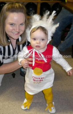 Homemade Chicken Noodle Soup Baby Costume