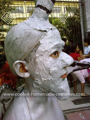 Homemade Child Gargoyle Costume