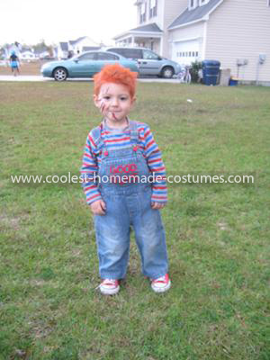 Homemade Chucky Costume