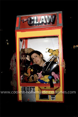 Claw Arcade Game Costume