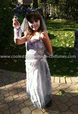Homemade Corpse Bride Costume