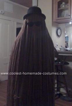 Homemade  Cousin Itt Costume