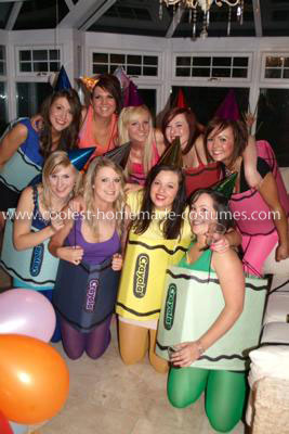 Coolest Crayola Group Costume