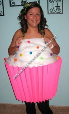 Homemade Cupcake Halloween Costume Idea