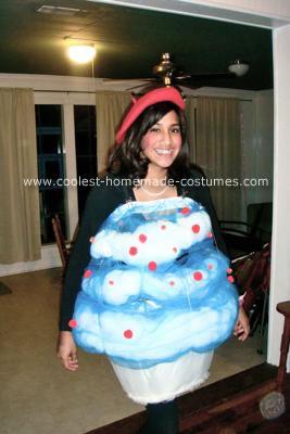Cupcake Homemade Costume