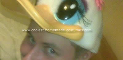 Homemade Darkwing Duck Costume