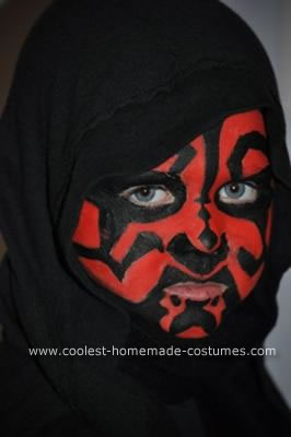 Homemade Darth Maul Costume