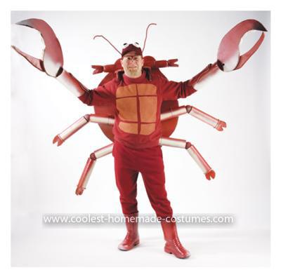 Homemade Deadliest Catch aka Crab Man Costume