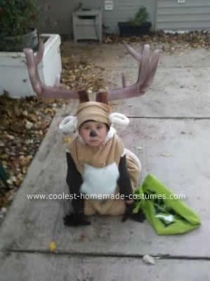Homemade Deer Costume
