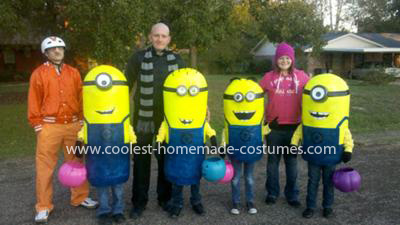 Minion Group Halloween Costume me Minion Group Costume