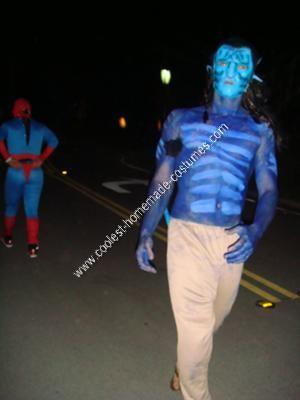 DIY Avatar Couple Halloween Costume Idea