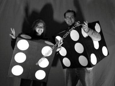 DIY Dice Couple Halloween Costume Idea