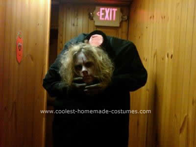 Homemade  DIY Headless Halloween Costume