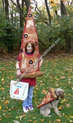 DIY Pizza Halloween Costume Idea