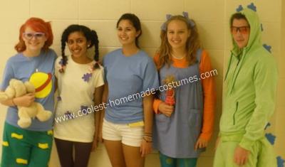 DIY Rugrats Group Halloween Costume