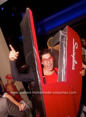 DIY Swingling Stapler and Hilroy Paper Couple Costume