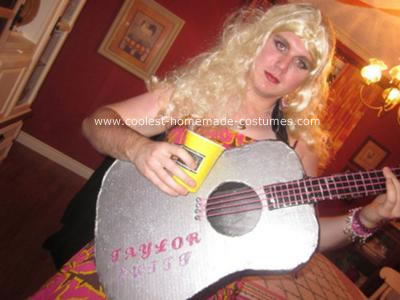 Taylor Swift Halloween Costumes on Homemade Diy Taylor Swift Costume