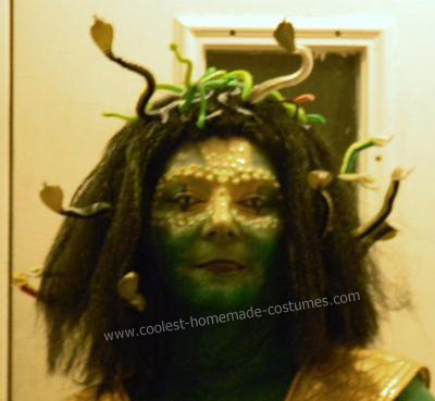 Do it Yourself Medusa Halloween Costume