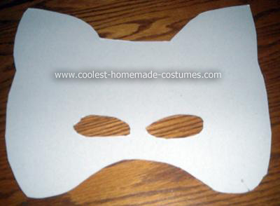Do it Yourself Raccoon Halloween Costume