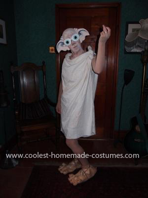 Homemade Dobby the House Elf from Harry Potter Costume