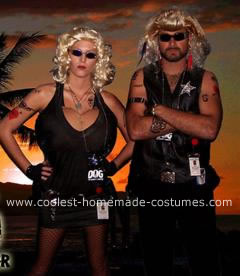 Homemade Dog the Bounty Hunter and Beth Chapman Costumes