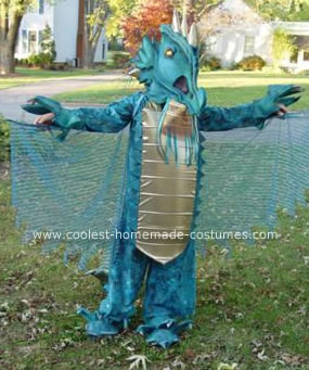 Homemade Dragon from Eragon Costume