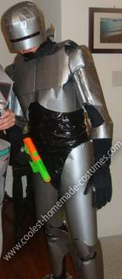 Homemade Duct Tape RoboCop Costume