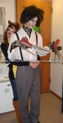 Coolest Edward Scissorhands Costume 19