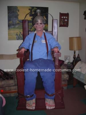 Homemade Electric Chair Costume
