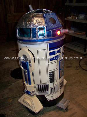 Ever Driving R2D2 Halloween Costume