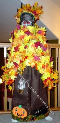 fall leaves halloween costume
