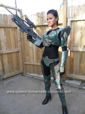 Homemade Female Halo Costume