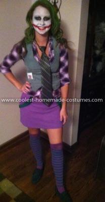 Coolest Female Joker Costume 21