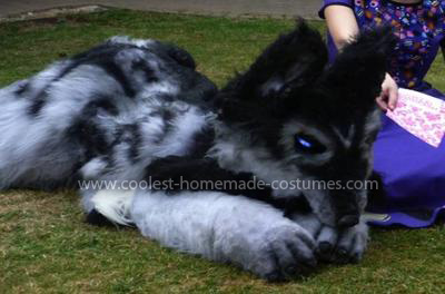 Homemade Fenris Wolf Costume