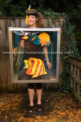 Aquarium costumes 1 for Fish costume diy