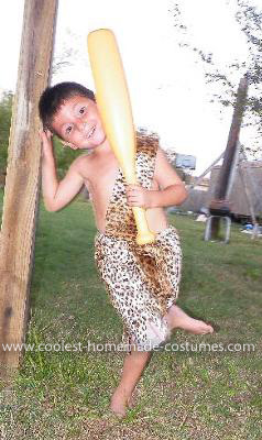 Homemade Flintstone Costume