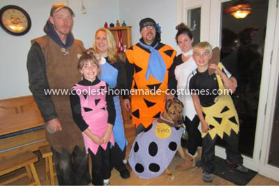 Coolest Flintstones Family Costume 56