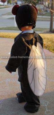 Homemade Fly Costume