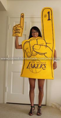Coolest Foam Finger Costume