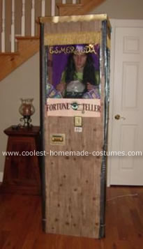 Homemade Fortune Teller Halloween Costume