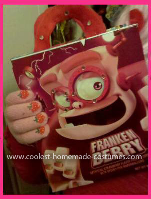 Coolest Frankenberry Costume Designer Bag