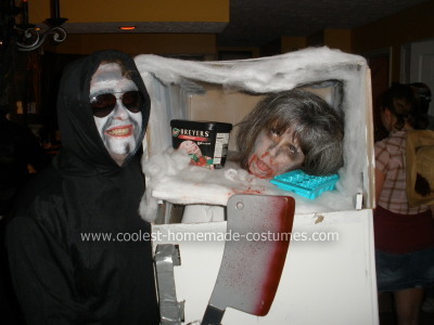 Frozen Head and Ghoul Costume